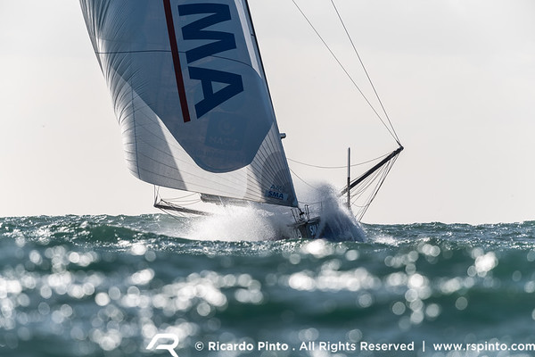 Bermudes 1000 Race - Douarnenez | Cascais - Paul Meilhat and SMA arrives in Cascais in first place