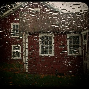 Barn and Shed [Rainy Day] |Grantsville, MD