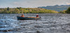 Anglers fishing from a boat on Lough Melvin for Sonaghan and Gillaroo trout