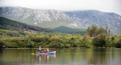 Lough Inagh - Some of Ireland's most stunning scenery. Fly fishing Lough Inagh, Connemara for sea trout and salmon