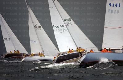 Lake Erie Race Start 1978
