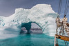 Iceberg Arch and Boat