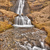 Gluggafossavegur Waterfall <br /> Near Road 261 and 250, <br /> GPS 63.719567  -19.892713