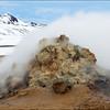 Steam Vent<br /> Hverarönd, Iceland<br /> GPS 65.64062600,  -16.80850200