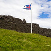 Flag Over  Þingvellir