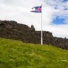 Flag Over  Þingvellir
