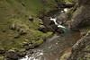 Fjaðrá (river), with its snow-melt water flowing along the Fjaðrárgljúfur (gorge) - late June.