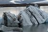 From the iceberg streaked with glacial till afloat the Jökulsárlón (lagoon) - to the glacial till moraine - with beyond the Hrútárjökull and Fjallsjökull (glaciers).