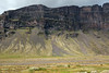 From the wooly willow - to the igneous rock scree fans, adjacent the steep craggy cliff face and jagged ridge, along the far southeastern area of mount Lómagnúpur (peak) - Southern region of Iceland.