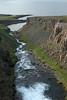 Gljúfursá (river) - Árvík (cove), along the Drangsnes (peninsula) - Vopnafjörður (fjord).
