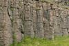 Dverghamrar (Dwarf Rocks) - jointed columnar basalt rock - Katla Geopark.
