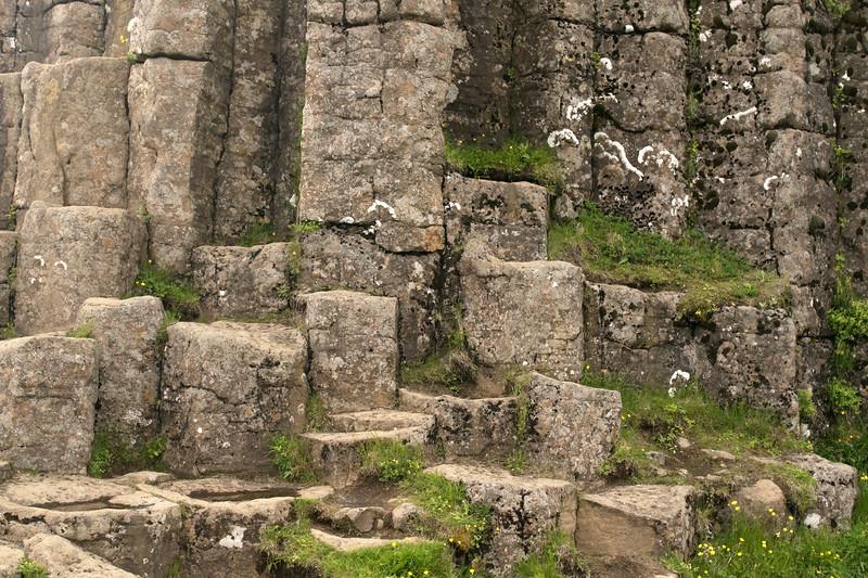 Dverghamrar (Dwarf Rocks) - a Natural Monument of Iceland.