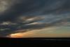 Near sunset from atop the Miðás hill, to Gegnisvatn (lake) upon the northeastern area of the Melrakkaslétta Peninsula - Northeastern region of Iceland.