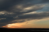 Near sunset from atop the Miðás hill, just west of Raufarhöfn (town) - northeastern area of the Melrakkaslétta Peninsula.