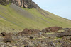Southernmost slope and end of mount Lómagnúpur (peak) - Katla UNESCO Global Geopark - Southern region of Iceland.