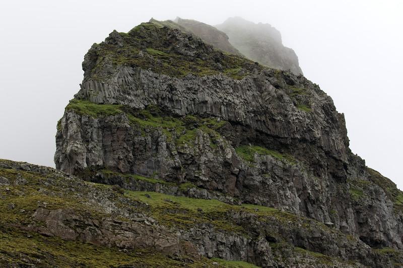 Up the Hvammsnúpur (peak) - along the southwerstern area of the  Eyjafjallajökull (volcano),
