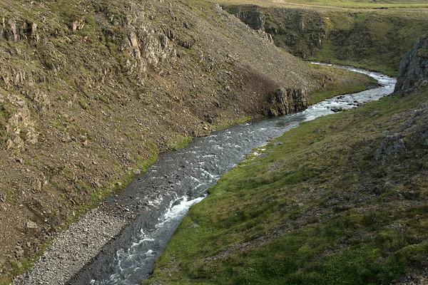 Up the Gljúfursá (river) - Eastern region of Iceland.