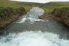 Down the Dalsá (river) - along the Boðvarsdalur (valley).