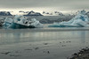 Jökulsárlón (Glacier River Lagoon) - from its volcanic rock shoreline and the growlers floating alongside - out to the weather sculpted icebergs - and beyond the Breiðamerkurjökull (glacier) and the Esjufjöll (mountains).