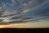 Near sunset and midnight from the Miðás hill, to Gegnisvatn (lake) upon the northeastern area of the Melrakkaslétta Peninsula - Northeastern region of Iceland.