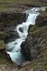 Sveinsstekksfoss (falls) - Fossá (river) - Eastern region of Iceland.