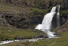 Falls along the Gljufurá (river) - along  the lower Dalsfjall (mountain) - Westfjords region of Iceland.