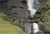 Base of Siðufoss (falls) - among the lithophytic vegetation cloaked upon the volcanic rock boulders.