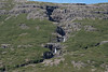 Cascade falls along the Álftagrófará (river) - along the Ísafjörður (fjord) - Westfjord region of Iceland.
