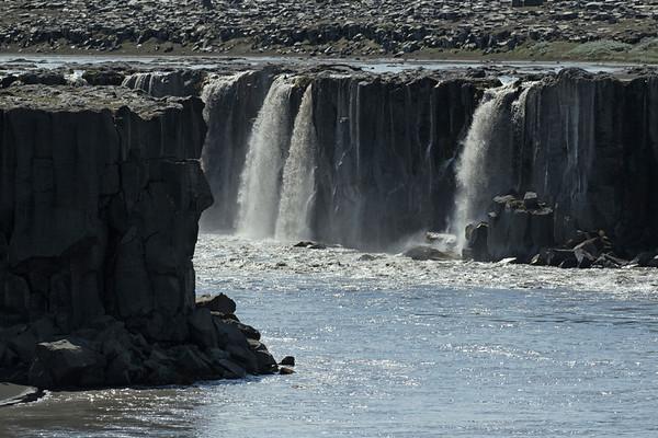 Selfoss (lower section) - located in the Vatnajökull National Park, along the Jökulsá á Fjöllum (river) - Northeastern region of Iceland.