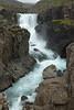 Sveinsstekksfoss (falls) - Fossá (river).
