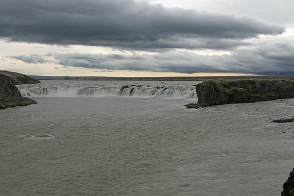 Tröllkonufoss (falls) - along the Thorsá (river).