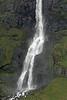 Bjarnarfoss -  along the base of the falls - Snæfellsnes (peninsula).