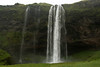 Seljalandsfoss - and adjacent other smaller falls during late June, the rainiest and coldest summer season in more than 100 years.