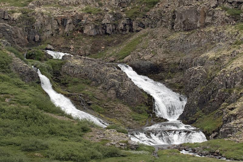 Gyrðisfoss - along the Svíná river - Westfjords region of Iceland.
