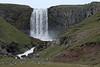 Kerlingarfoss - a cataract falls dropping about 200 ft. (60 m) along the Fossá/Fosslaekur (river) - the Snaefellsnes (Snow Mountain Peninsula).