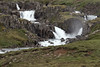 Systrafossar (falls) - cascading along the Fjarðará (Fjord River) - Eastern region of Iceland.