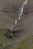 Cascade falls flowing along Kambafjall (mountain) - southern area of the Onundarfjörður (fjord).