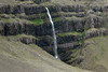 Krossfoss - here along the southern slope of the Smatindafjall (mountain) - along the northern mouth into the Berufjörður - Eastern region of Iceland.