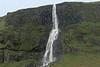 Bjarnarfoss - a chute falls, along the volcanic rock ledge of the Mælifell (mountain) - Snæfellsnes (peninsula).