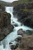 Up the Fossá (river) to the Sveinsstekksfoss (falls) - amongst the igneous rock.