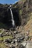 A cascade waterfalls along the Kamba (stream) - Melrakkanes Peninsula - Alftafjörður (fjord).