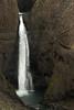 Litlanesfoss or Stuðlabergsfoss (Basalt Column Falls) - a two tier or cascade falls, dropping about 100 ft. (30 m), along the Hengifossá (river).