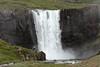 Gufufoss (Steam Falls) -  plunging about 40 ft. (12m), along the Fjarðará (Fjord River) - Eastern region of Iceland.