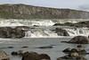 Urriðafoss or Urridafoss (Sea Trout Falls) - cascading along the Thjorsá (river) and amongst the volcanic basalt rock.