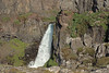 Gljúfurárfoss (Canyon River Falls) - amongst the volcanic rock, moss, lichen, grass, and heath vegetation - Vindfellsfjall (mountain) - Vopnafjörður (fjord) - Eastern region of Iceland.