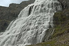 Dynjandi Falls - a cascading bridal-veil falls - a Natural Monument of Iceland.