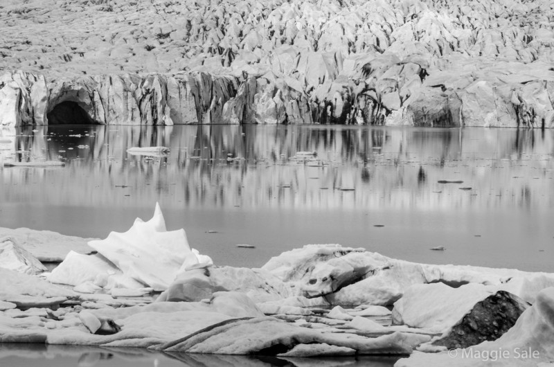 Fjallsjokull glacier