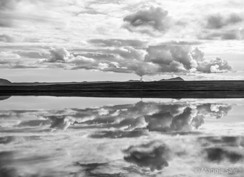 Lake Masvatn near Lake Myvatn