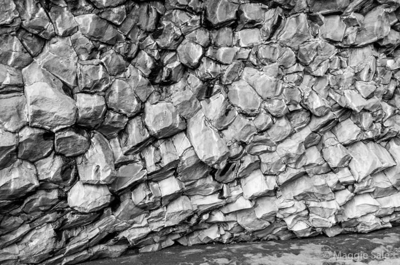 Basalt columns, Halsanefshellir sea cave, Reynisfjara beach