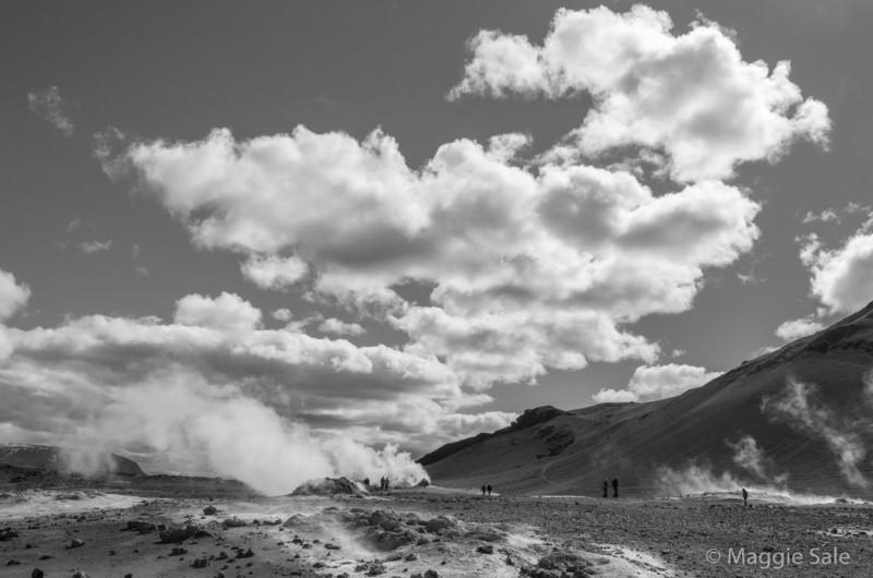 Hverir geothermal field